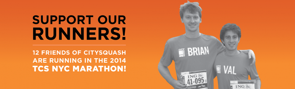 Support our runners!