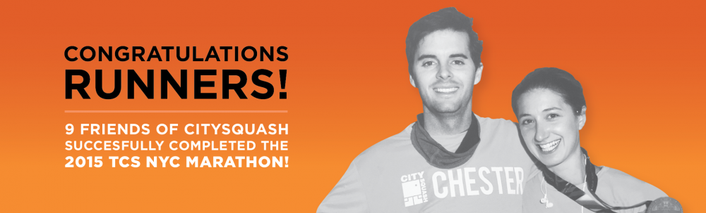 THANK YOU NYC MARATHON 2015 BANNER